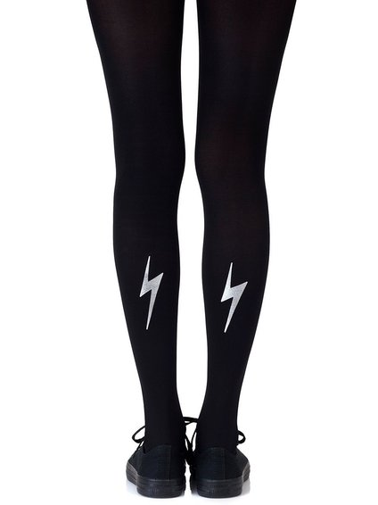 Zohara - Art on tights `Electric Feel Silver (F395-BS) sukkpüksid