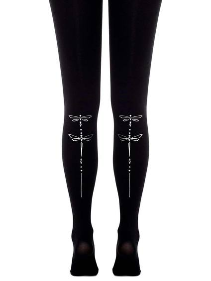 Zohara - Art on tights Dragonfly (F526-BS) UUS KOLLEKTSIOON!